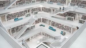 Futuristic library/Unsplash Kuma Kum