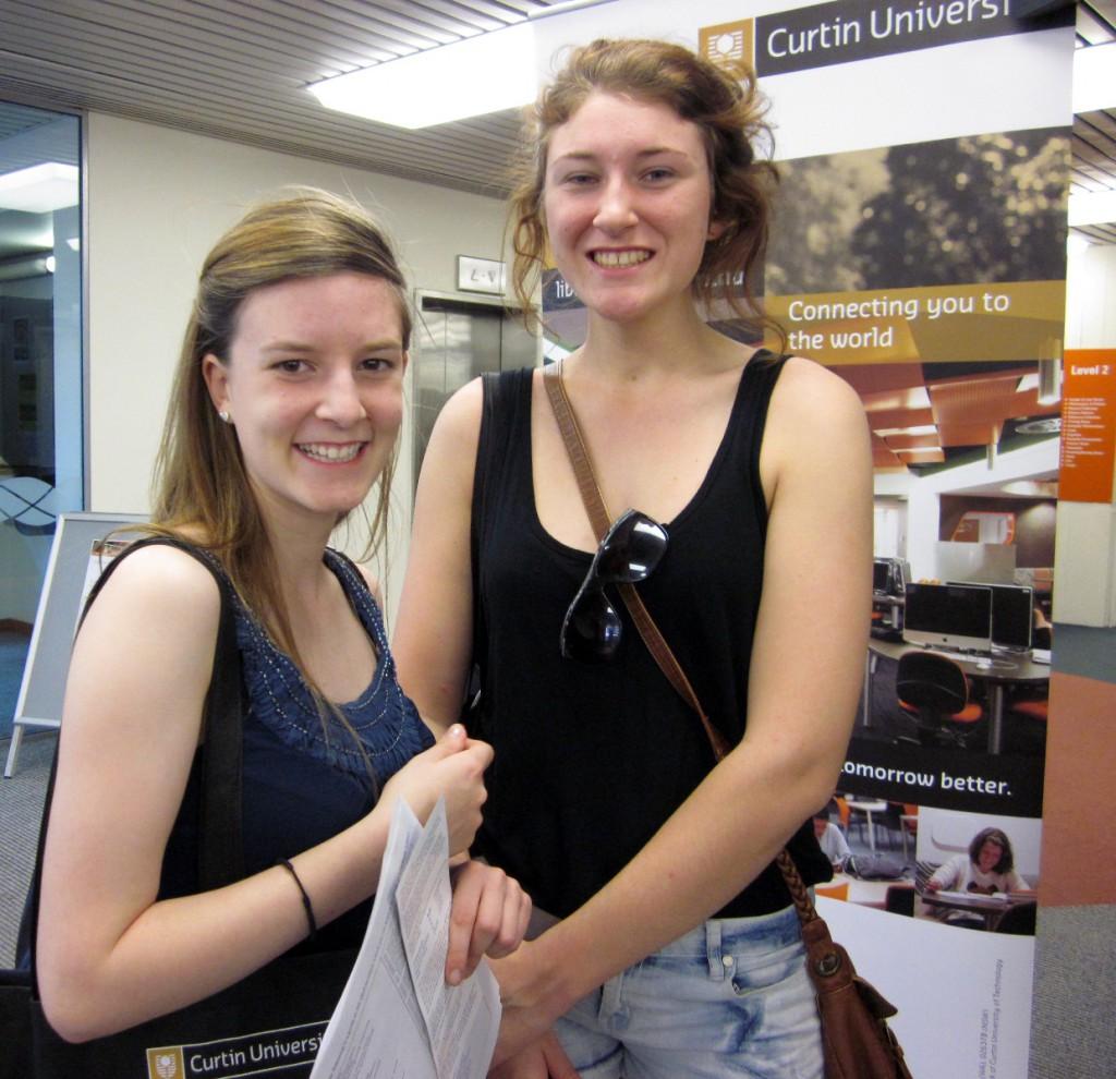 Amanda Leigh and Kate Conroy